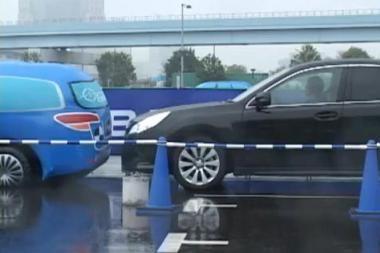 """""""Subaru"""" pristatė saugumo sistemą"""
