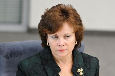 R.Juknevičienė: Baltijos šalys neišvengiamai turės vykdyti bendrus ginkluotės įsigijimus