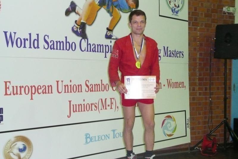 Sambo čempionas: profesines ambicijas teko užleisti sambo