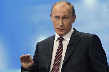 Putinas išrašė lazdą valdžiai oponuojantiems