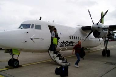 Keleivių srautas Palangos oro uoste šiemet - 16 proc. didesnis