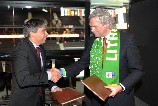 Lietuva ir Ispanija sutarė bendradarbiauti sporto srityje
