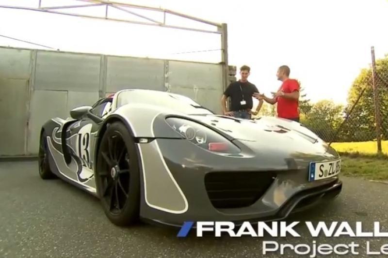 """Kitoks hibridas: sportinis """"Porsche 918"""""""