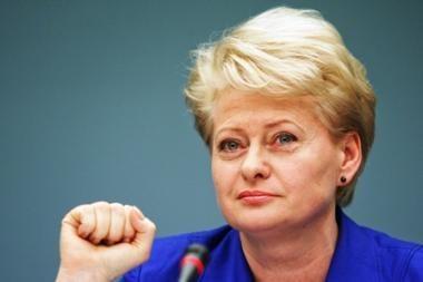D.Grybauskaitės populiarumas neblėsta