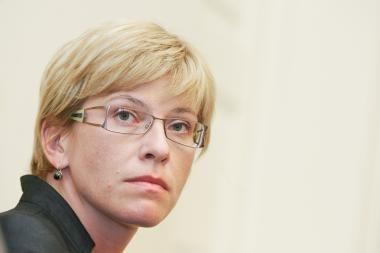 Finansų ministrė: nieko nedarymas būtų nusikalstamas