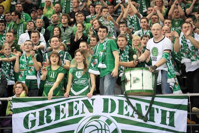 """Malagos sirgaliai sužavėti atmosfera """"Žalgirio"""" arenoje"""