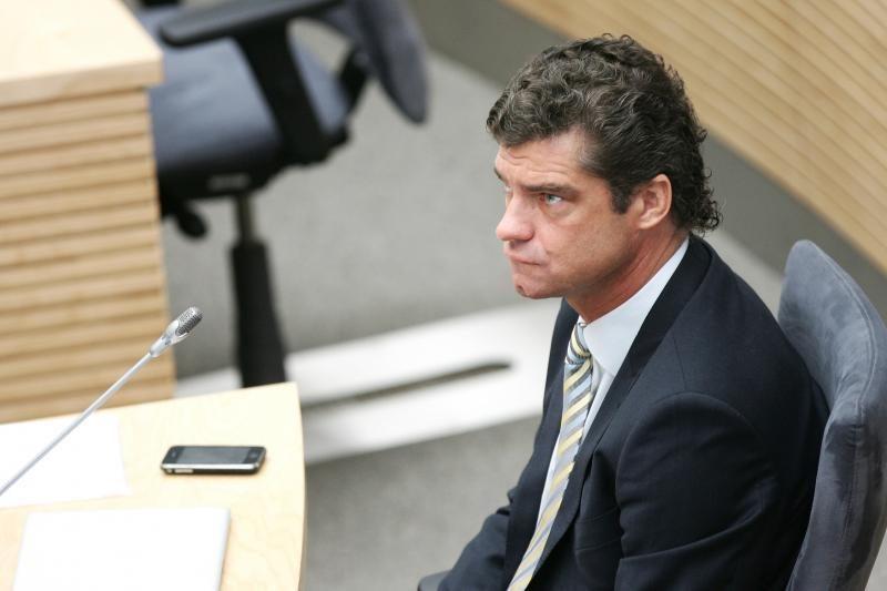 Į Seimą neišrinktas Ž. Šilgalis gali grįžti į Vilniaus miesto tarybą