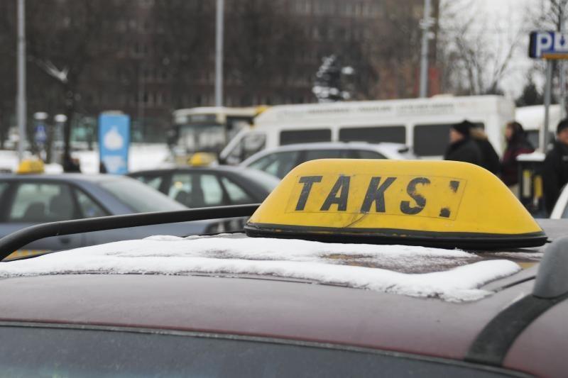 Jonavos rajone buvo pagrobtas taksi automobilis