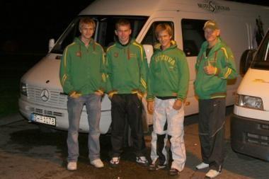 Lietuvos rinktinė - pasaulio tautų motociklų kroso čempionate