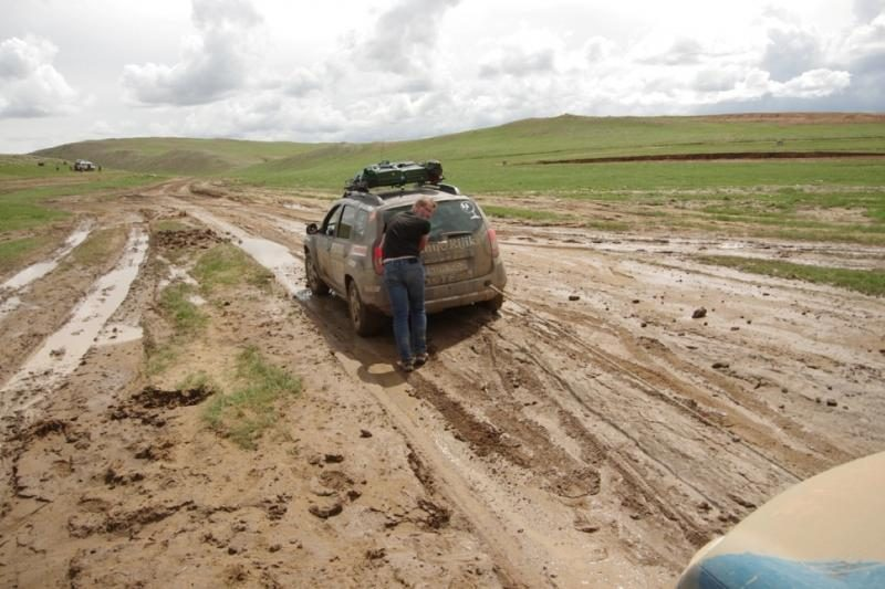 Lietuviai nukeliavę iki Mongolijos: buvo vien žvyrkeliai ir purvas