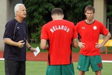Baltarusiai bando užliūliuoti Lietuvos futbolininkus