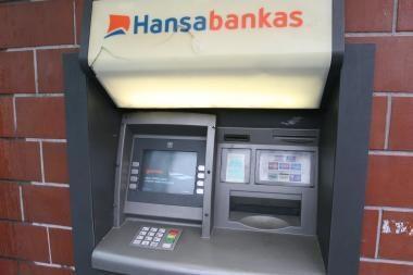 Bankomatų vagys - neįveikiami