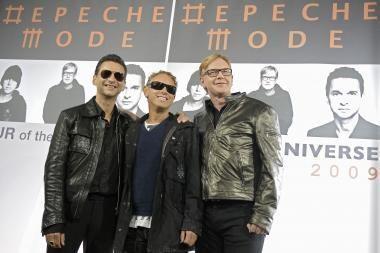 """Nekantriausiems """"Depeche Mode"""" gerbėjams – koncertas Rygoje"""