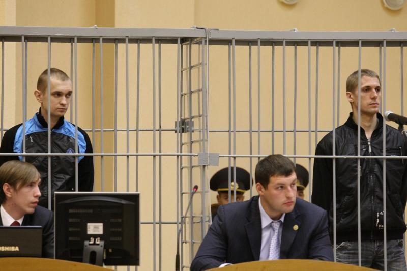 Baltarusijoje įvykdyta mirties bausmė abiem Minsko sprogdintojams