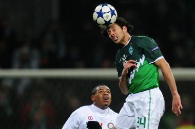 """UEFA: """"Werder"""" be vargo nugalėjo """"Inter"""" klubą (visi rezultatai)"""