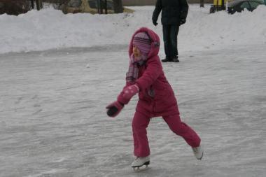 Ledo čiuožyklos Vilniuje pasiteisino - jose zuja vaikai