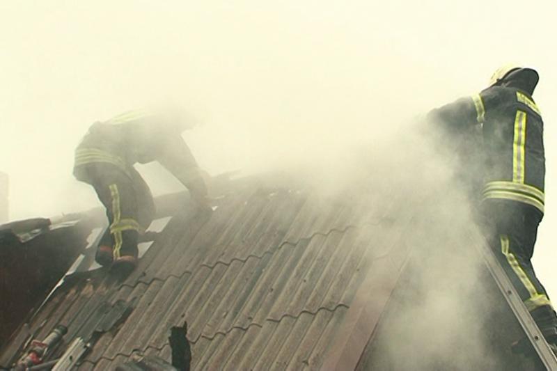 Trakų  rajone  gaisras  pražudė  žmogų