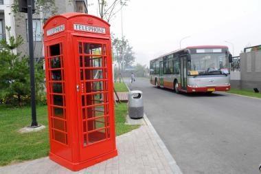 Raudonos telefonų būdelės Anglijoje išliks