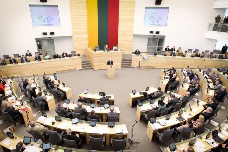 Seimas pritarė Nacionalinės energetikos nepriklausomybės strategijai