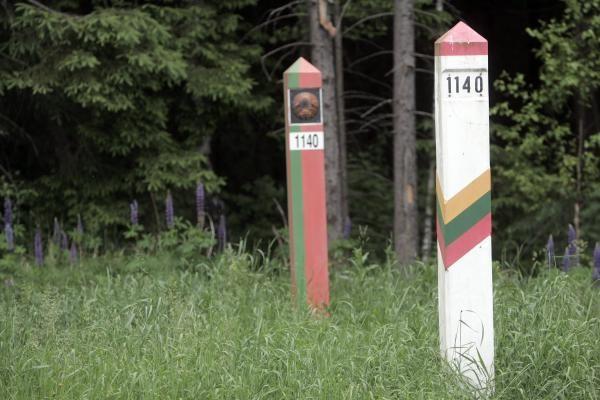 Užsienietis Lietuvos valstybės sieną neteisėtai kirto tris kartus