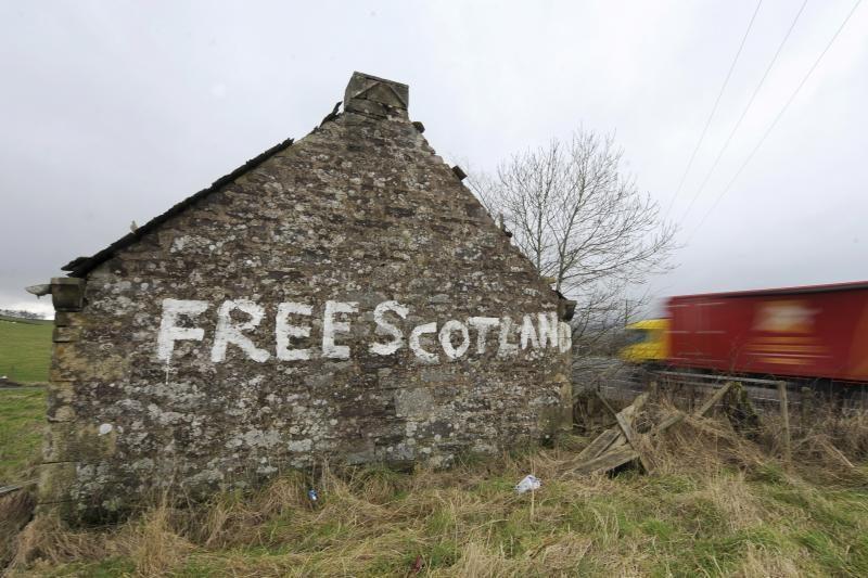 Škotijos pirmasis ministras pradėjo kampaniją už nepriklausomybę