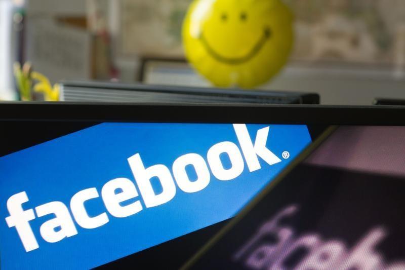 """""""Facebook"""" parduos 25 proc. daugiau akcijų"""