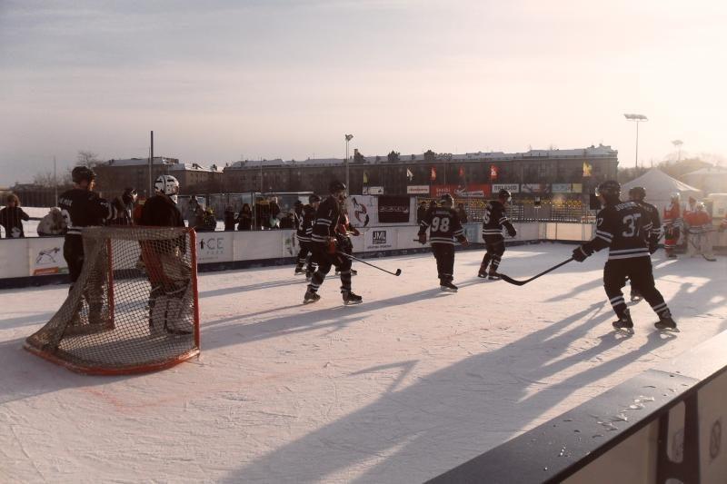 Miestiečius čiuožti mokys ledo ritulininkai