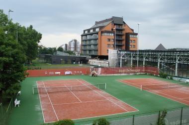 """Tenisininkai varžosi """"Vanagupė Open 2010"""" turnyre"""