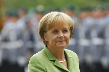 A.Merkel atšaukė vizitą į Lietuvą (papildyta)