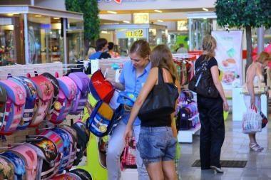 Kaune pradėjo veikti didžiausia Lietuvoje mokyklinių prekių mugė