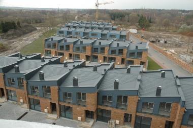 Klaipėdos apskrityje šiemet pastatyta daugiau namų