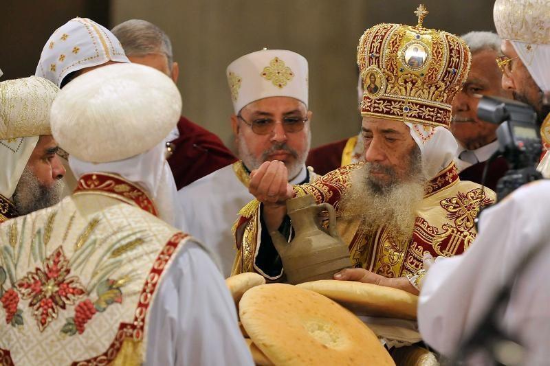 Mirė Egipto koptų popiežius Shenuda III