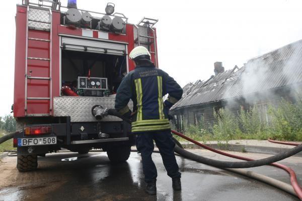 Savaitgalį Lietuvoje kilo 121 gaisras
