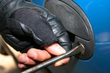 Pajūryje pavogti du automobiliai