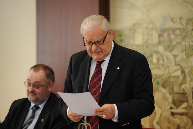 Klaipėdos universitete prisiekė naujoji taryba