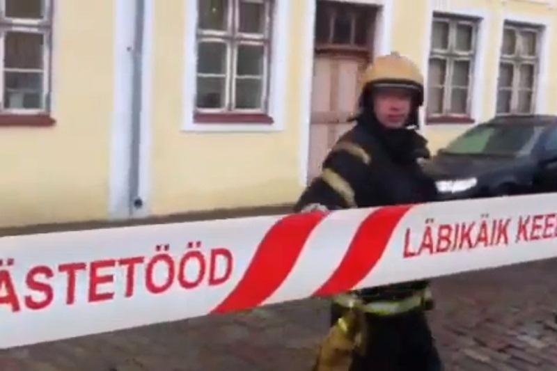 Bombos aliarmas Lietuvos ambasadoje Taline atšauktas