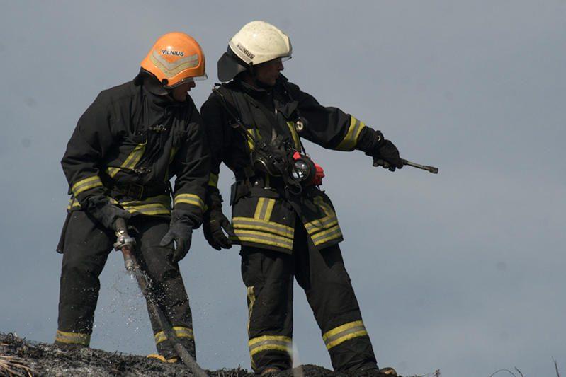 Šalčininkų rajone per gaisrą žuvo žmogus