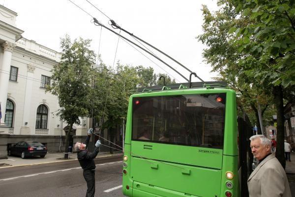 Bratislavoje moteris pagimdė troleibuse