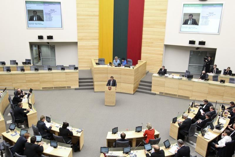 Seimo kontrolieriams siūloma suteikti daugiau teisių
