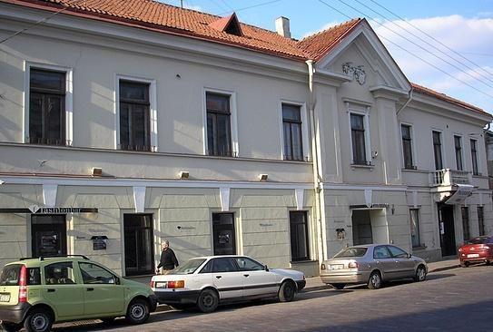 Vilniuje rengiamasi restauruoti rūmus senamiestyje