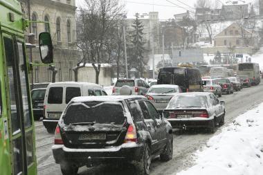 Orai Kaune: žiema grįžta sniego pavidalu (papildyta)