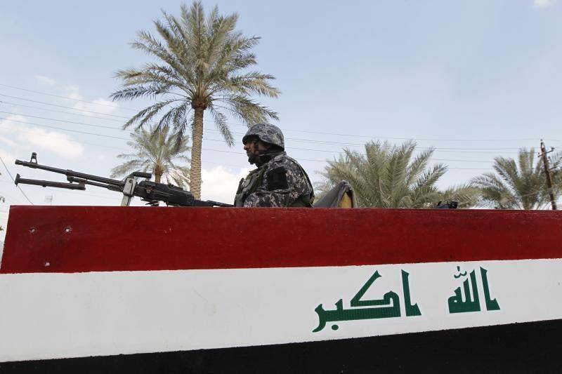 Bagdado policijos akademijoje per mirtininko išpuolį žuvo 15 žmonių