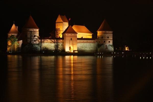 Užgeso Trakų pilis