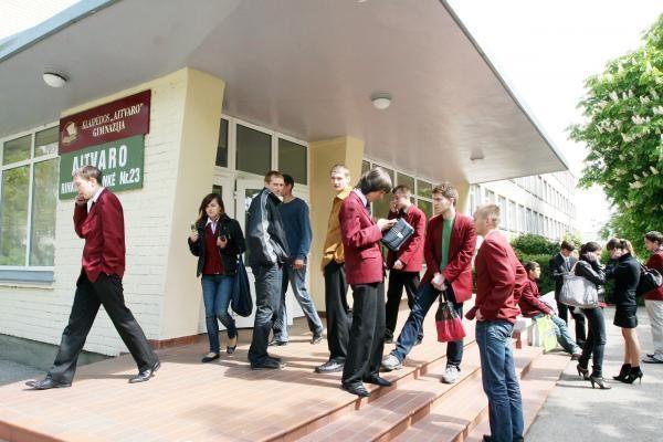 Egzaminų rezultatai nepalankiausi profesinėms mokykloms