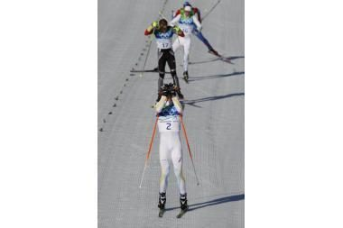 30 km distancijoje triumfavo Švedijos slidininkai