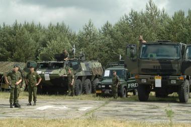 Į Klaipėdą atplauks Danijos karinė technika