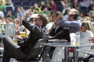 Per Europos čempionatą arenose nebus prekiaujama alumi
