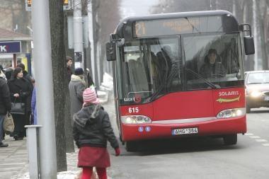 Kauno viešojo transporto parkui atnaujinti skirta beveik 20 mln. litų