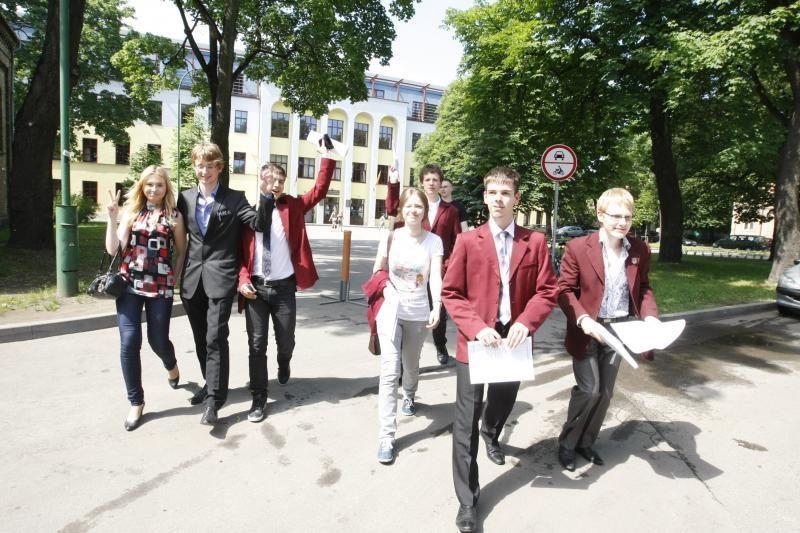 Klaipėdos abiturientai anglų ir rusų kalbų egzaminus išlaikė geriausiai
