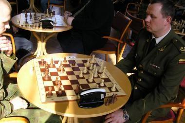 Kaune – kariuomenės šachmatų čempionatas